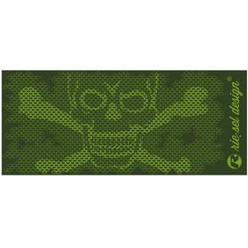 Riesel Design bot:tle 500ml skull honeycomb green